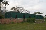 Nave metálica modular ECORAPID.  - 380m2 Matagalpa (Nicaragua).