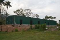 Nave metálica modular. 380m2 Matagalpa (Nicaragua)