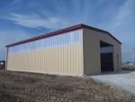 Nave industrial prefabricada ECORAPID 150m2.  - Mazères (Francia)