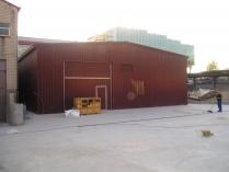Nave modular prefabricada ECORAPID. San Sebastian de los Reyes (Madrid) 390 m2