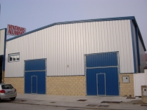 Nave modular ECORAPID. Taller de carpintería. Santecilla de Mena (Burgos). 320 m2