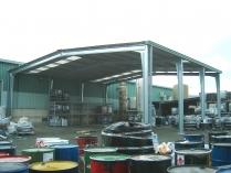 Nave modular prefabricada ampliable ECORAPID. Chiloeches (Guadalajara). 300 m2