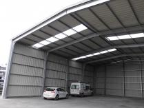 Tinglados modulares ecorapid galpones modulares for Cobertizos prefabricados metalicos