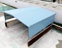 Nave prefabricada metálica. 185m2 L´arboç (Tarragona)