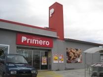Nave modular prefabricada ECORAPID. Supermercado de 888 m2. La Muela (Zaragoza)