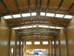 Naves metálicas industriales - Naves industriales modulares y prefabricadas con cubierta y fachada metálica