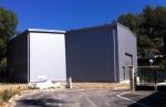 Almacén modular metálico ECORAPID - 300m2 Provenza-Alpes (Francia)