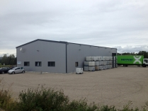 Hangar métallique préfabriqué 500m2 Sarrebourg 57 (France)