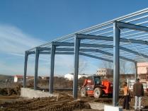 Structure métallique démontable en kit 550m2 Segovia