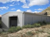 Cobertizos de patios ecorapid galpones modulares for Cobertizos prefabricados metalicos