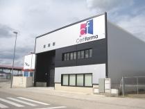 Oficina-almacén modular ECORAPID. Calatayud (Zaragoza). 790 m2