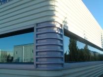 Oficinas. ECORAPID prefabricada. San Mateo de Gállego (Zaragoza). 450 m2