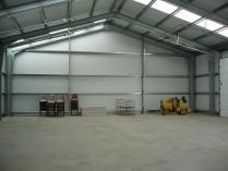 Salón de recreo-eventos en Frouzins-Toulose (Francia). Nave modular ECORAPID de 285 m2