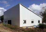 Nave industrial prefabricada ECORAPID  - Guadalupe (Francia)