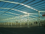 35.000m2 de naves modulares prefabricadas ECORAPID - Feria De Zaragoza
