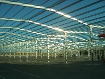 Feria de Zaragoza (Zaragoza). 35.000 m2 de naves prefabricadas ECORAPID