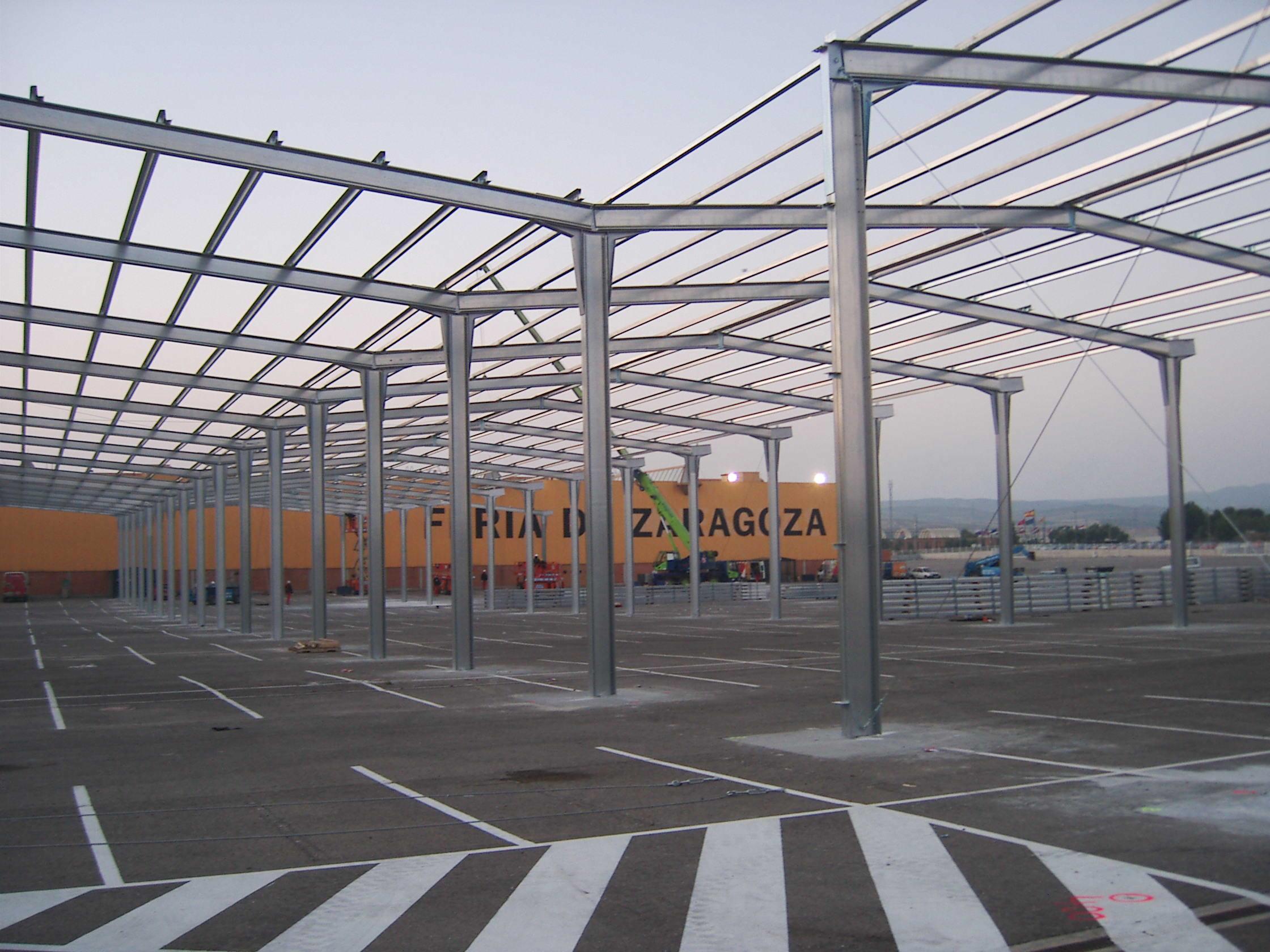 Hangar métallique de 35.000m2 à Zaragoza ECORAPID