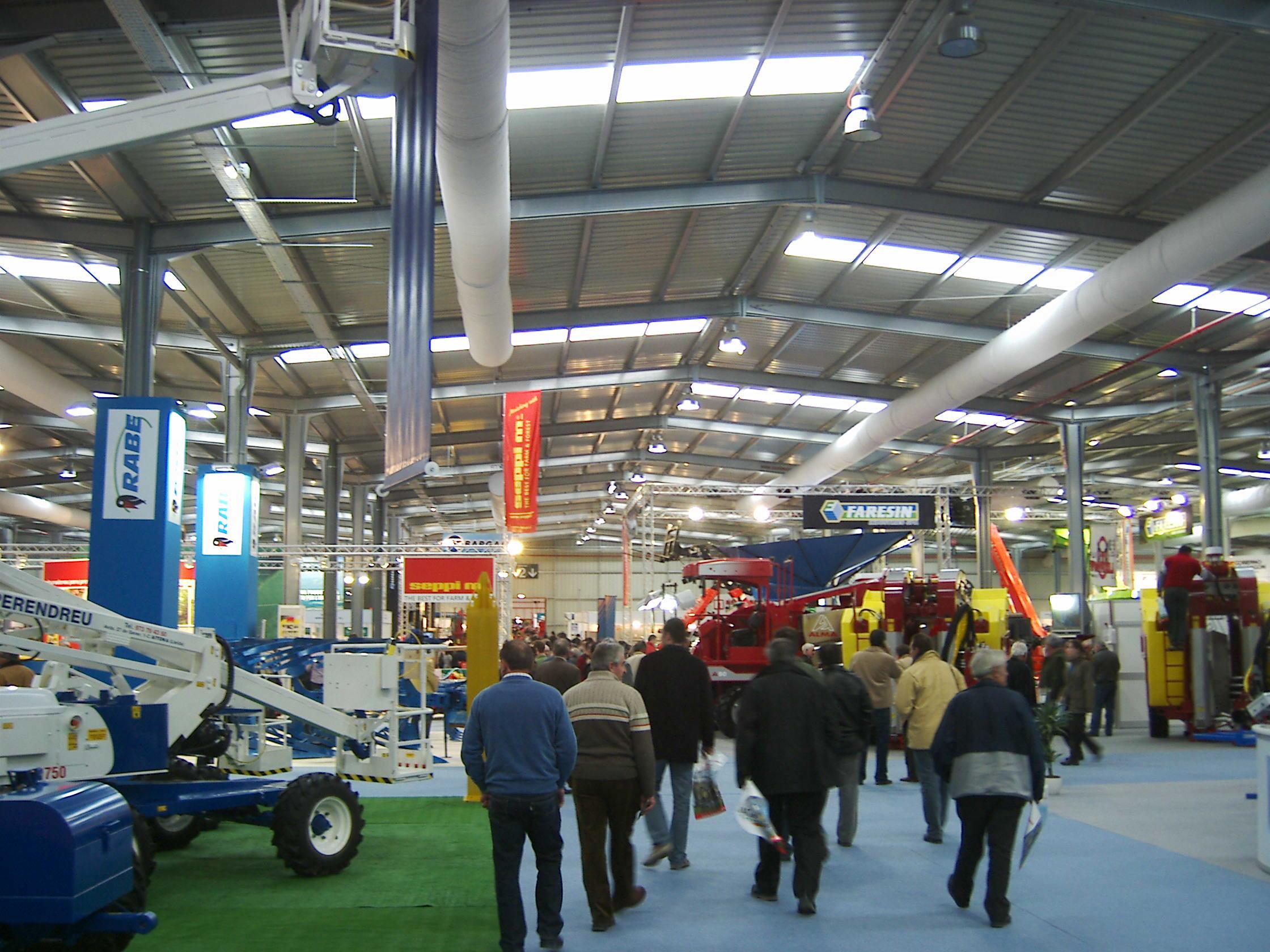 Naves modulares ECORAPID para la Feria de Muestras de Zaragoza