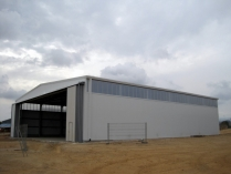 Structure démontable en kit 700m2 Almería