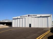 Hangar aviación prefabricado ECORAPID para aeropuerto. 700m2 Reus (Tarragona)