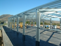 Locaux extensible en kit 560m2 El Espinar (Segovia)