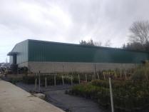Almacén agrícola prefabricado desmontable ECORAPID en Gatika (Vizcaya). 375 m2