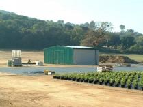 Nave almacén agrícola ampliable ECORAPID. El Masnou (Barcelona). 50 m2