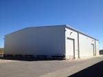 Almacén modular metálico. - 840m2 Ágreda (Soria)