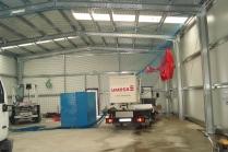 300 m2 de nave garaje modular ampliable ECORAPID en Lorquí (Murcia)