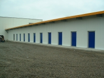 Toulouse (Francia). Nave industrial logística prefabricada ECORAPID. 630 m2