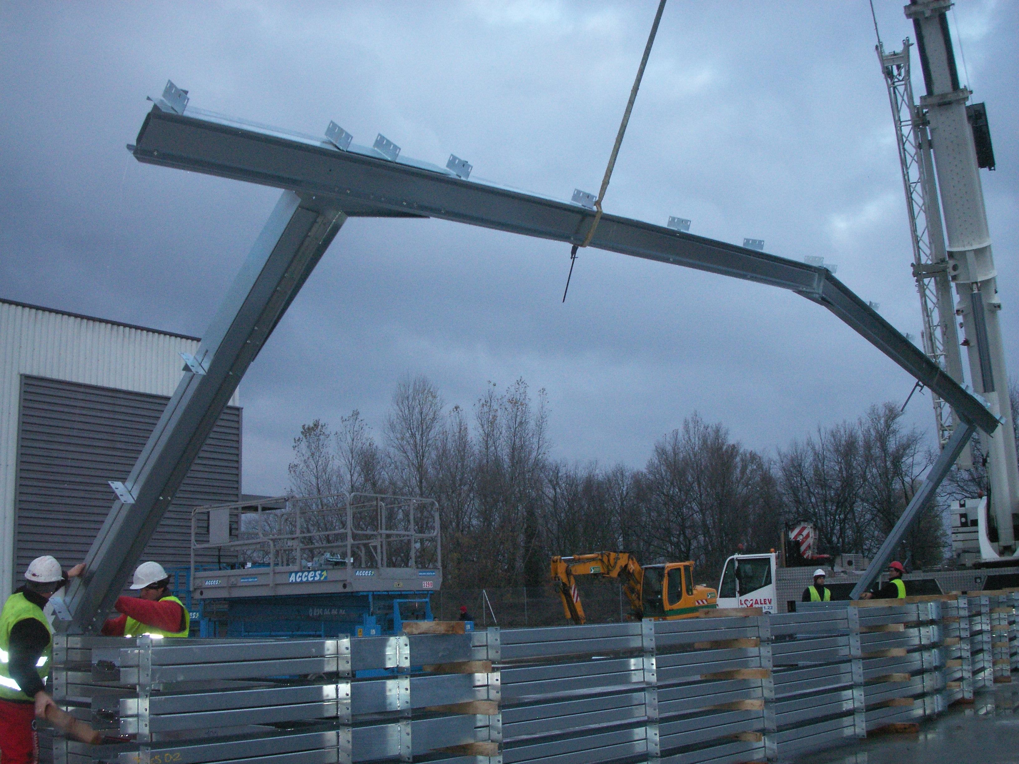 Hangar modulaire démontable ECORAPID