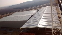 Nave industrial modular ECORAPID. 4000m2 Gelsa (Zaragoza)