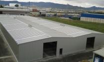 Nave modular metálica prefabricada. 1800m2 Rivabellosa (Álava)