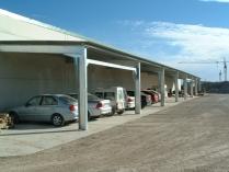 Nave marquesina ECORAPID. Garaje de 245 m2 en Villanueva de Gállego (Zaragoza)