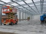 Nave modular prefabricada desmontable Ecorapid - Montaje de Cubierta.