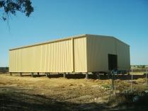 Nave desmontable ECORAPID en Almonte (Huelva). 450 m2