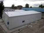 Nave prefabricada metálica ECORAPID - 650m2 Canillejas (Madrid)
