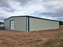 Hangar modulaire pour cimentiere. 600m2 Dunbar (Ecosse - UK)
