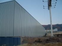 Entrepôt métallique préfabriqué 1000m2 El Ejido (Almería)