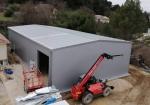 Nave industrial prefabricada ECORAPID.  - 325m2 Gardanne (Francia)