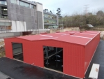 Nave modular metalica ECORAPID - Aviles (Asturias)