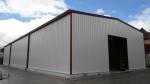 Almacén modular metálico ECORAPID.  - 600 m2 Siero (Asturias)