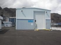 Nave prefabricada ECORAPID en Puerto de Santa Cruz de Tenerife. 400 m2