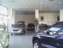 Nave ECORAPID concesionario Chrysler (Guadalajara). 350 m2