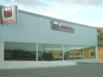 Nave ECORAPID concesionario Seat-Andorra (Teruel). 1200 m2