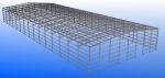 MECARAPID - Estructura prefabricada 100% desmontable - Hasta 40 metros de luz, sin pilares intermedios