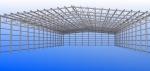 MECARAPID - Naves y hangares modulares metálicos de grandes luces.