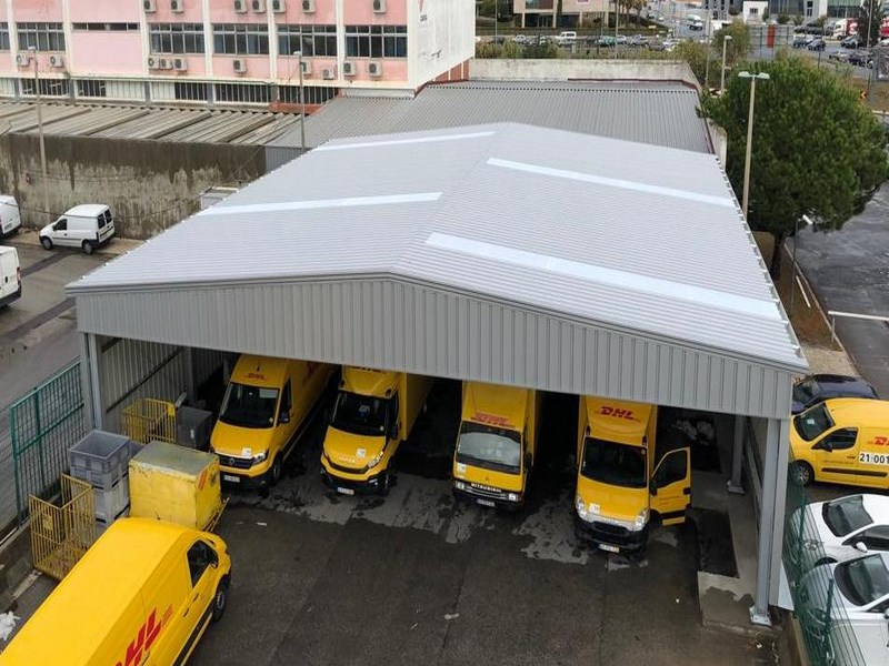 Nave modular prefabricada Naverapid