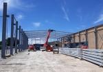 Nave prefabricada metálica NAVERAPID.  - 2050m2 Tudela (Navarra)