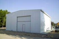 Nave desmontable PLENAVE 12.5 en Monzalbarba (Zaragoza)